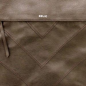 Relic black shoulder tote bag purse